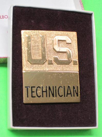 36TH SIGNAL BATTALION GENUINE U.S FOR THE COMMANDER ARMY CREST
